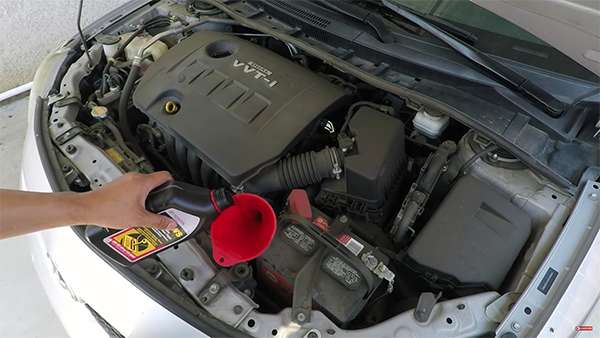 Toyota ATF WS заливаем в АКПП