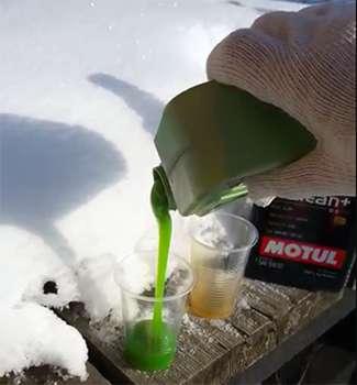 Масло Молиген 5w40 на морозе