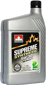 Petro Canada Supreme Synthetic 5W 30