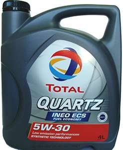Моторное масло Total Quartz Ineo ECS 5W30