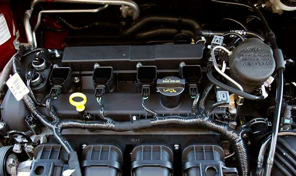 старый двигатель