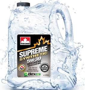 из рекламного ролика Petro Canada 5w30 Supreme