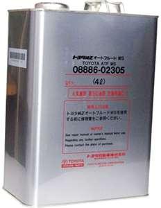 оригинальная упаковка масла Toyota ATF WS