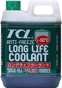 антифриз TCL зеленого цвета