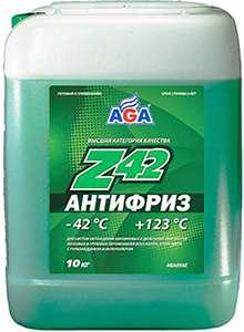 AGA Z42 зеленый антифриз