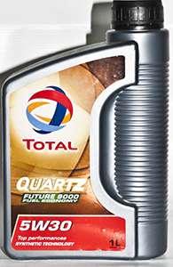 литровая канистра total quartz 9000 future nfc 5w 30