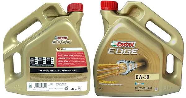 моторное масло Castrol 0W30