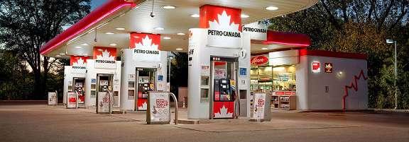 заправочная станция Petro-Canada