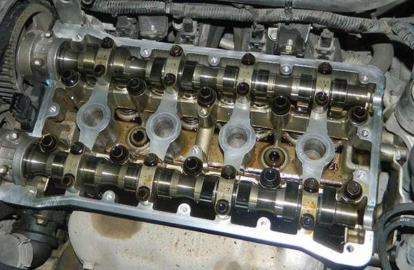 двигатель после использования масла Тойота