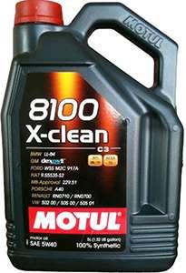 Мотюль 8100 X Clean 5W 40