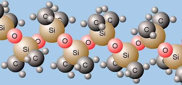 молекулы силикона
