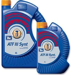 трансмиссионная смазка ATF 3 Synt ТНК