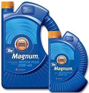 масло моторное Magnum Motor Plus 10W 40