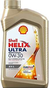 масло Shell Helix Ultra 0W30