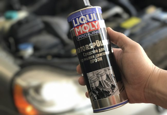 Oil-Schlamm-Spulung от Ликви Моли
